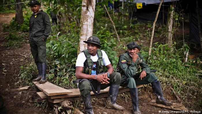 Kolumbien FARC Camp in Policarpa (Getty Images/AFP/L. Roboya)