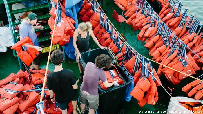 Hilfsorganisation Iuventa Jugend Rettet (picture alliance/dpa/Iuventa Jugend Rettet)