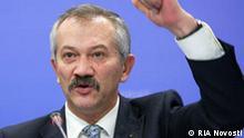 Ukraine Finanzminister Viktor Pinzenik in Kiew