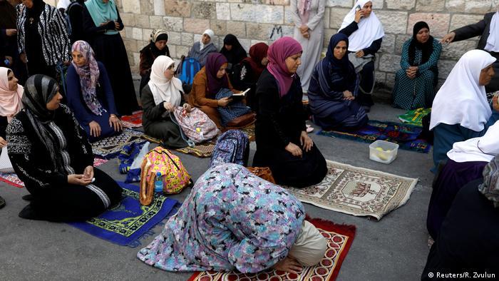 Jerusalem Tempelberg Gebet (Reuters/R. Zvulun)