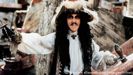 Dustin Hoffman in 'Hook' (picture alliance/Everett Collection/TriStar)