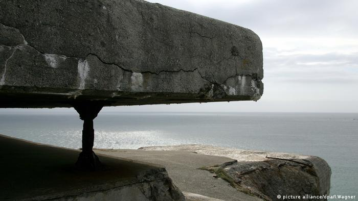 Bretagne Bunkerruinen des Atlantikwalls