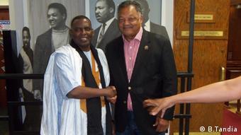 Biram Ould Dah Abeid und Jesse Jackson (B.Tandia)