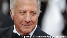 3106652 05/21/2017 Actor Dustin Hoffman at the premiere of the film The Meyerowitz Stories at the 70th International Cannes Film Festival. Asatur Yesayants/Sputnik Foto: Asatur Yesayants/Sputnik/dpa  