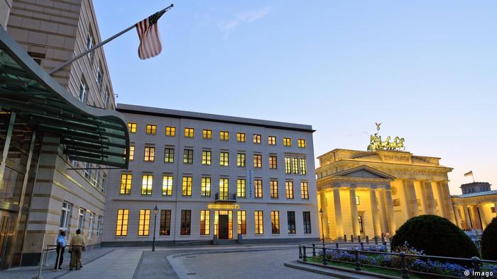 Deutschland US Botschaft in Berlin