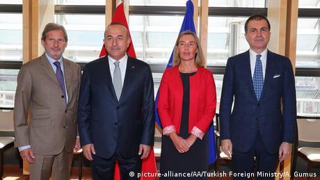 Καμία προσέγγιση μεταξύ ΕΕ και Τουρκίας