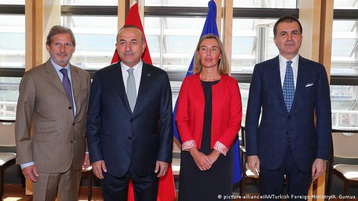 Türkiye ve AB heyeti en son 25 Temmuz'da bir araya gelmiş ve üyelik müzakerelerinin geleceğini değerlendirmişti