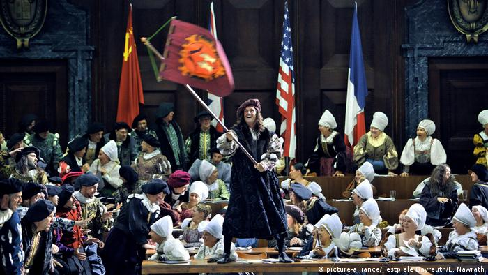 Bayreuther Festspiele 2017, Die Meistersinger von Nürnberg: Massenszene in Kostüm