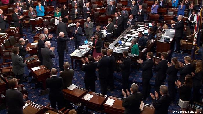 Заседание Сената США (фото из архива)
