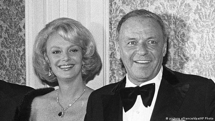 USA Barbara Sinatra und ihr Mann Frank Sinatra (picture alliance/dpa/AP Photo)