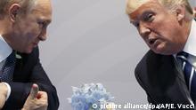 Deutschland Trump trifft Putin