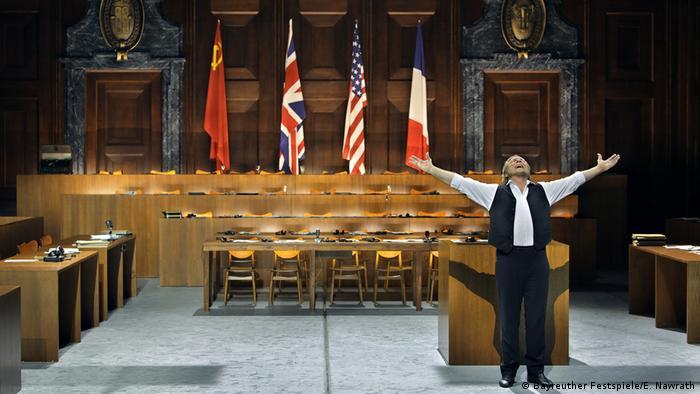 Сцена из оперы Вагнера Нюрнбергские мейстерзингеры
