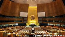USA: Die Generalversammlung der Vereinten Nationen in New York. Foto vom 28. November 2010. | Verwendung weltweit