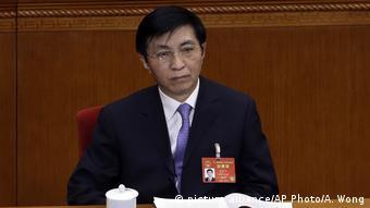 China Peking Wang Huning (picture alliance/AP Photo/A. Wong)