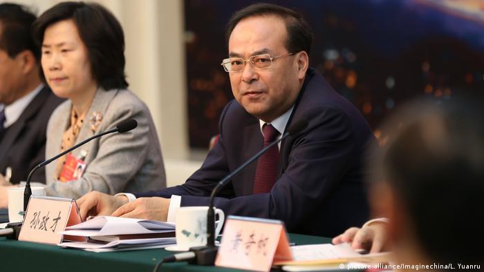 China Sun Zhengcai