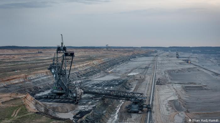 Hambach open surface mine, Germany