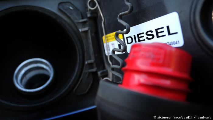 Symbolbild Dieselskandal Automobilindustrie (picture-alliance/dpa/K.J. Hildenbrand)
