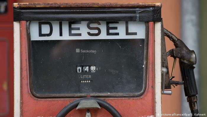 Автозаправна станція у Німеччині
