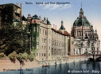 The Berlin City Palace around the year 1925
