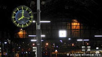 St. Lazare train station in Paris