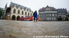 Deutschland Südniedersachsen - Dauerregen