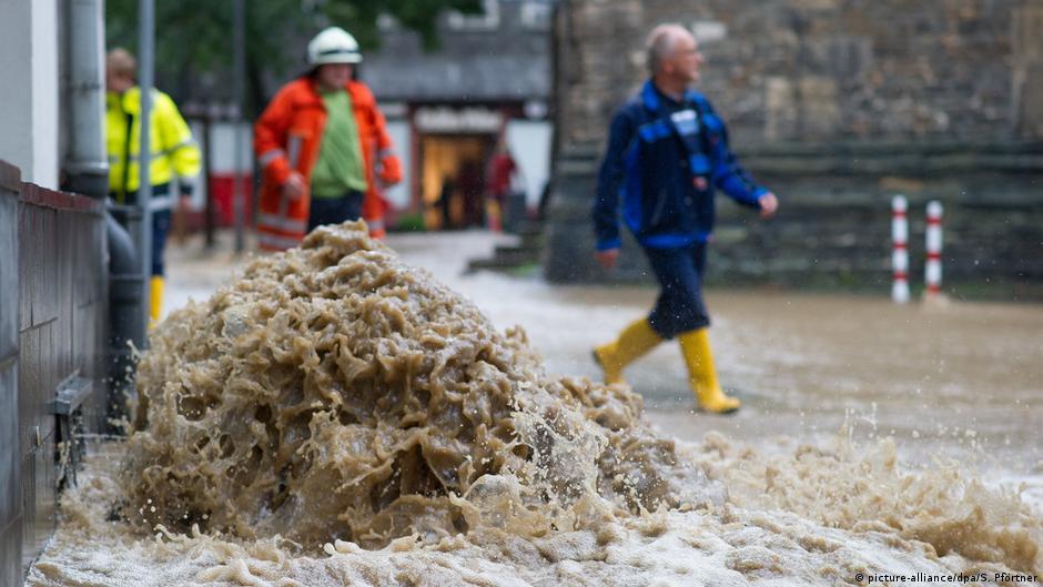затопил квартиру в германии