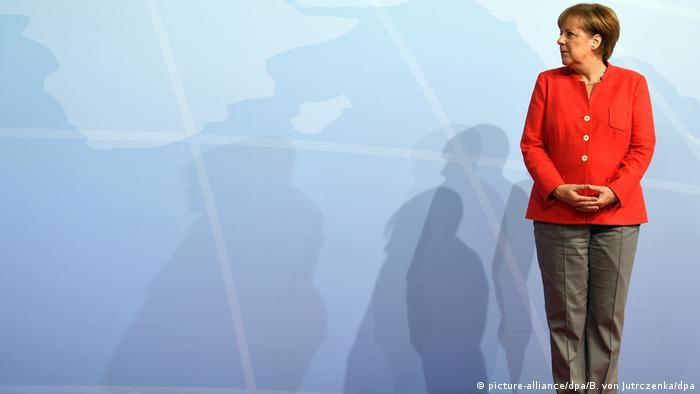 German Chancellor Angela Merkel at the G20 summit