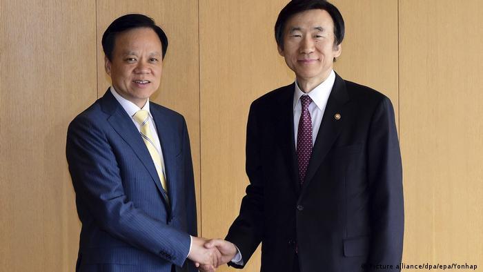 Yun Byung-se und Chen Miner (Picture alliance/dpa/epa/Yonhap )