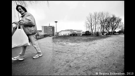Aus der Ausstellung Blutiger Boden. Die Tatorte des NSU im Martin-Gropius-Bau der Berliner Festspiele. (Regina Schmeken, 2013)