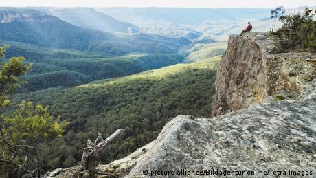 Australia - Sicht auf die Blue Mountains (picture-alliance/Bildagentur-online/Tetra Images)
