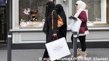 Schweiz - Verschleierungsverbot