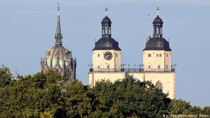 Колокольни храма Святой Марии и Замковой церкви, Виттенберг