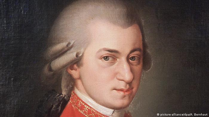 Painting of Wolfgang Amadeus Mozart (Foto: picture-alliance/dpa/A. Bernhaut)