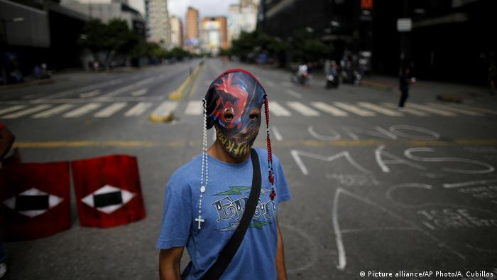 Venezuela Protest (Picture alliance/AP Photo/A. Cubillos)