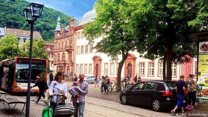 Heidelberg town center