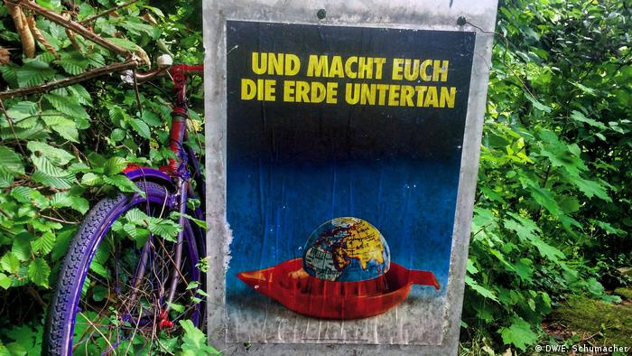 An old poster in Heidelberg