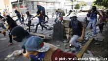Venezuela - Krise - Proteste