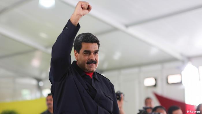 Venezuela - Krise - Präsident Maduro (Reuters)