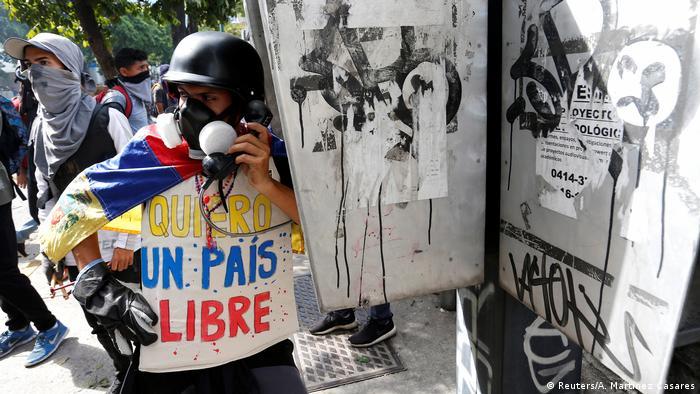 Venezuela - Krise (Reuters/A. Martinez Casares)