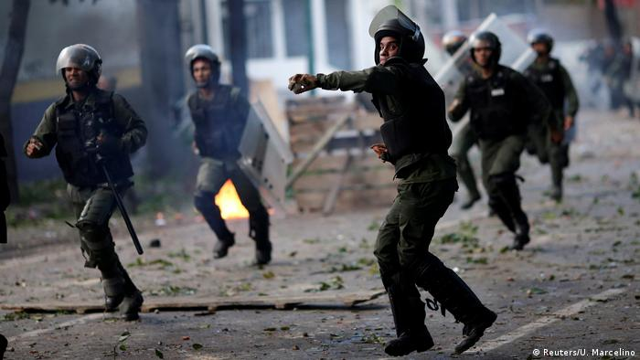 Venezuela - Krise (Reuters/U. Marcelino)