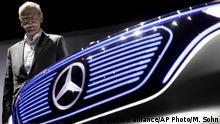 Глава Daimler AG - Mercedes Benz Дитер Цетше