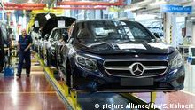 Daimler AG - Mercedes Benz - Konzern in Sindelfingen