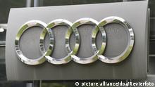Audi AG - Emblem - Firmenlogo in Ingolstadt