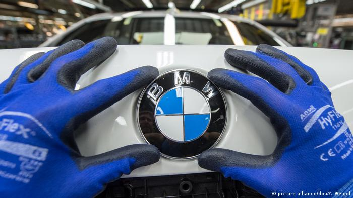BMW - Produktion im Werk Dingolfing (picture alliance/dpa/A. Weigel)