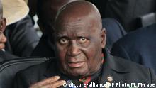 Zambia ehem. Präsident Kenneth Kaunda