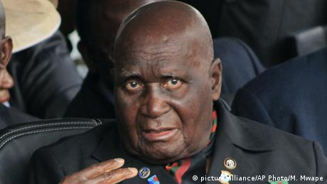 Zambia ehem. Präsident Kenneth Kaunda (picture-alliance/AP Photo/M. Mwape)