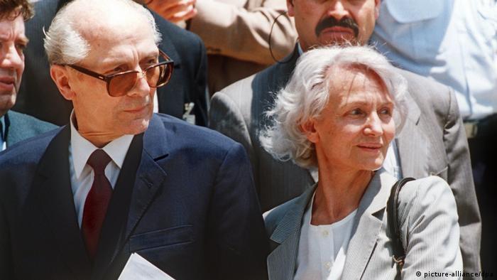 Erich Honecker in Chile