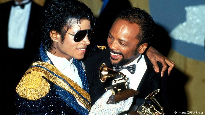Michael Jackson und Quincy Jones
