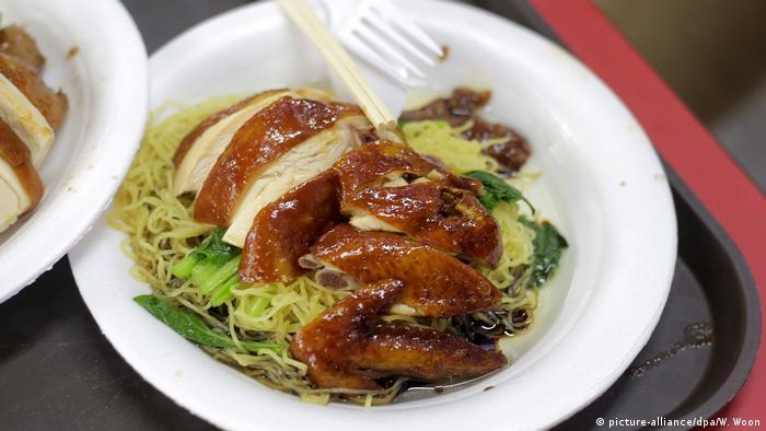 Singapur Soya Sauce Chicken noodles