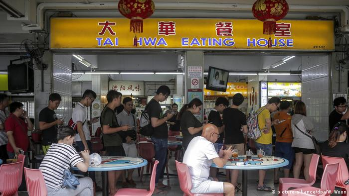 Singapur Michelin Star awarded to two Singapore Hawkers (picture-alliance/dpa/W. Woon)
